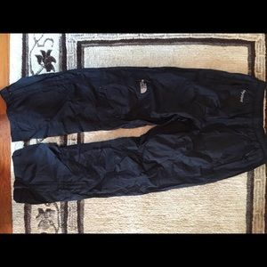 The North Face wind/rain pants